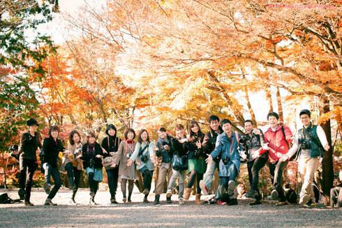 2012年11月 南禅寺に行きましたね☆