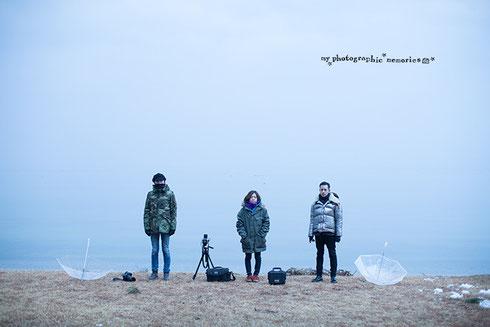 冬の撮影時の服装について