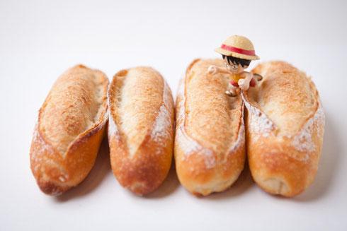 プティブランさんのパンとルフィー