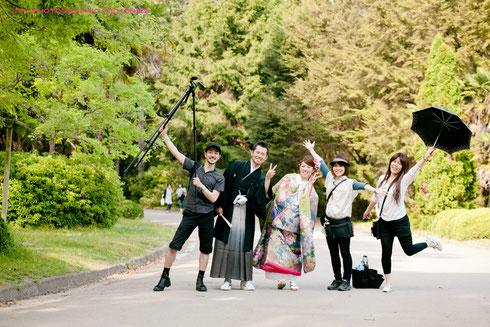 京都府立植物園での前撮り
