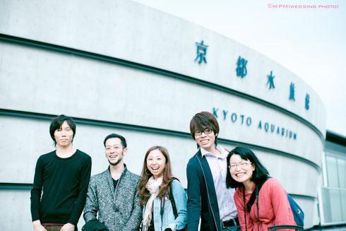 2012年10月 京都水族館にも行きましたね☆