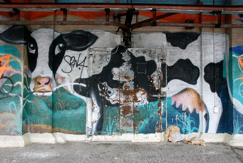 Cow, Meatpacking District, Manhattan, New York, 2008