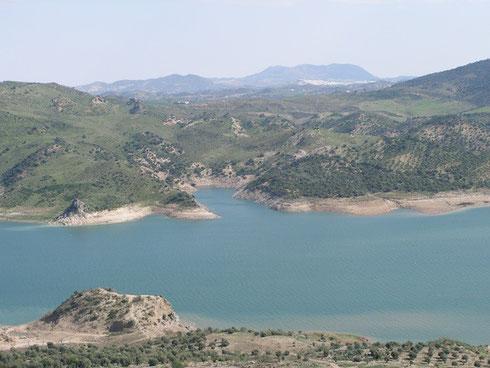 Vista desde Zahara de la Sierra