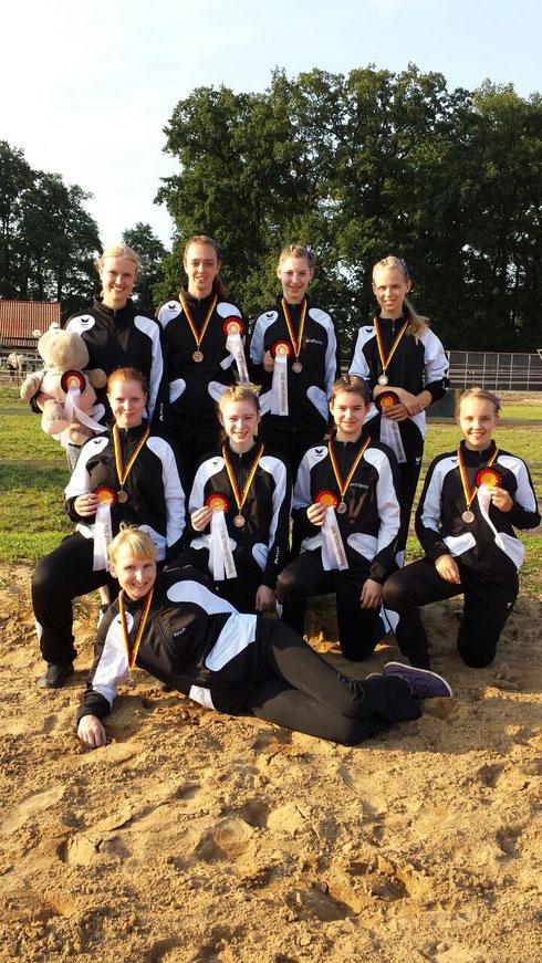 Stuhr I in Bockhop, 3. Platz Kreismeisterschaft