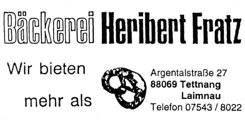 Bäckerei Heribert Fratz