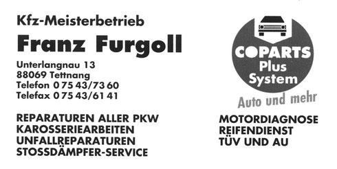 KFZ-Meisterbetrieb Furgoll
