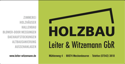 Holzbau Leiter & Witzemann