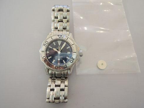 常に人気のブランド腕時計「OMEGA(オメガ)」の時計修理できます。