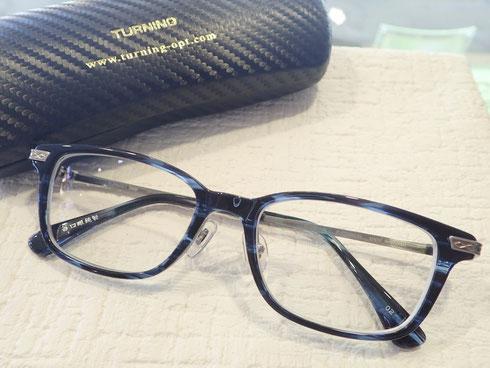 就職活動するのにメガネを新調したい。選ばれた眼鏡は新作「ターニング」