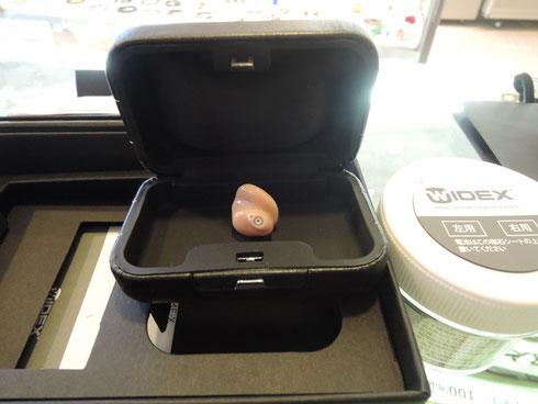 ご注文いただいていたWIDEX社(ワイデックス)の補聴器が届きました。