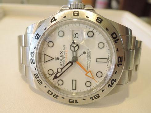 高級ブランド腕時計として有名なROLEX(ロレックス)の時計修理について