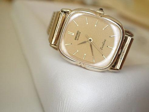 なぜか絶縁シートが無かった、セイコーエクセリーヌの時計をオーバーホール修理しました