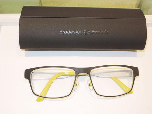 「プロデザイン デンマーク」眼鏡をお買い上げ頂きました。