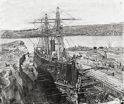L'Atalante, sister-ship du Montcalm.