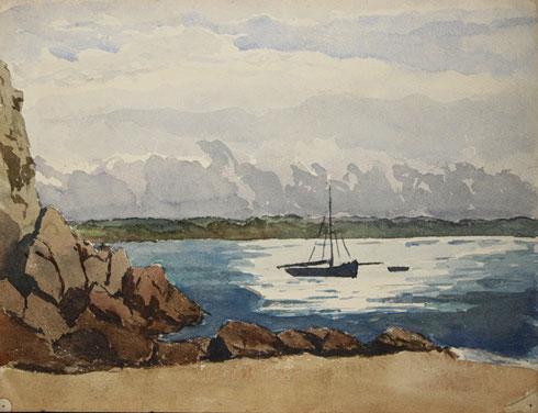 Rade Brest, 19 juin 1924.