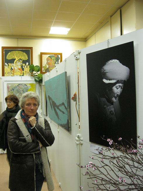 Catherine Le Roux, artiste peintre, auteur photographe