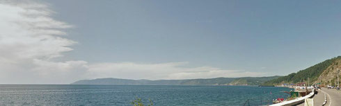 Озеро Байкал, круговая панорама