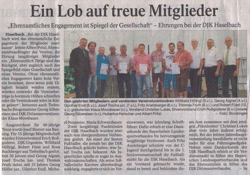Mitgliederehrung Pfingsten 2013