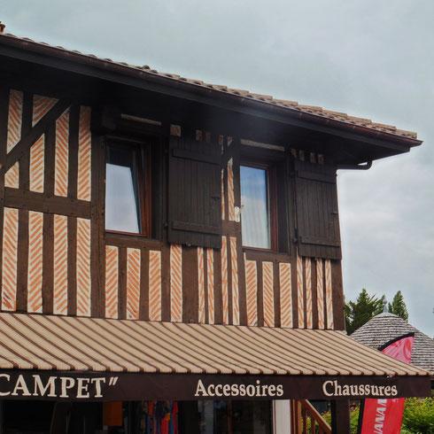 Klinker-Fachwerkhaus in Lit-et-Mixe