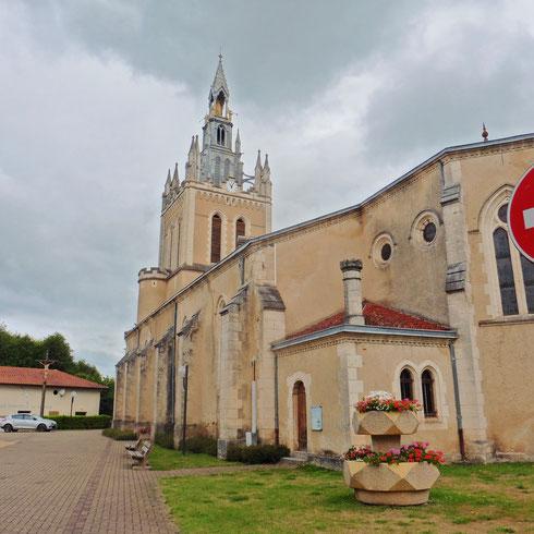 Kirche von Lit-et-Mixe