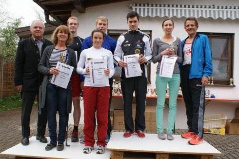 Hobbylaufgewinnerinnen und Gewinner