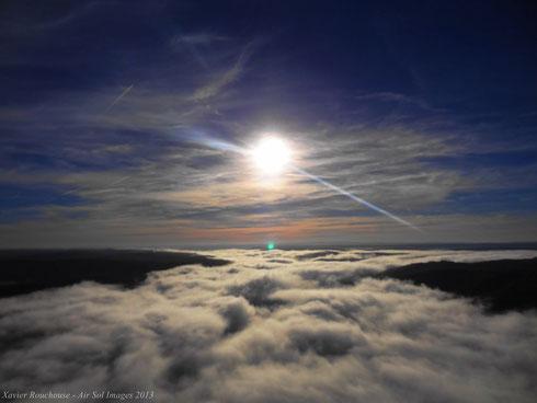 Baptême de l'air en ULM Paramoteur Skydancer, avec Air Sol Images, Vallée du Lot, Parc Naturel Régional des Causses du Quercy
