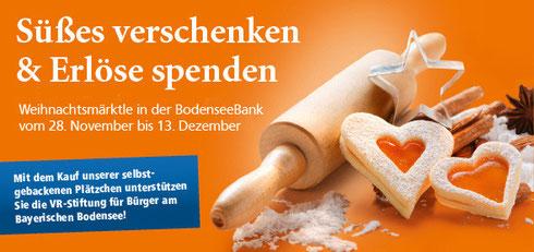 Weihnachtsmarkt BodenseeBank