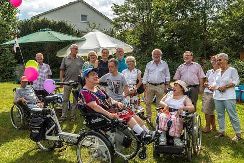 Spenden ermöglichen ein Rollstuhlbike
