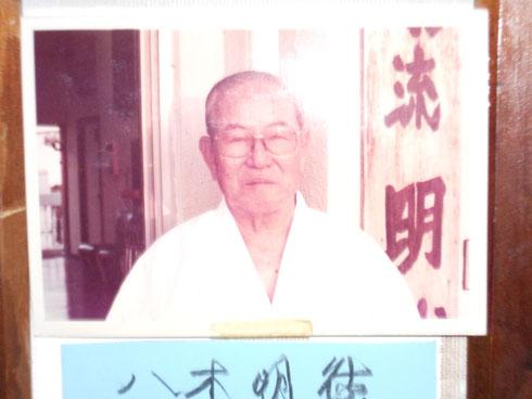 Yagi Meitoku Sensei