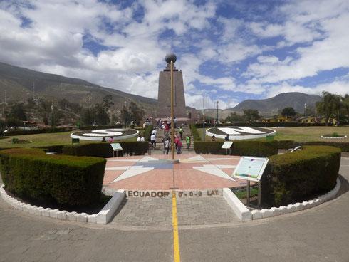 Ecuador - Am Äquator