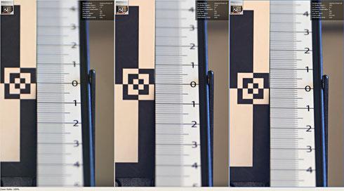Фокус-шифт (последовательные снимки на f/1.8, f/2.8 и f/4.0