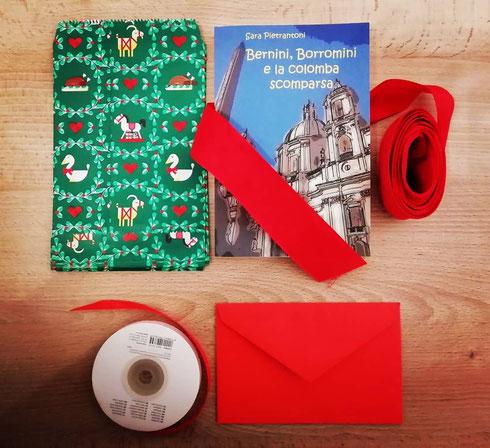 Avete già pensato ai regali di Natale? Un bel libro è quello che ci vuole per i più piccoli...non ho da pubblicizzare offerte per il Black Friday, ma il mio Bernini, Borromini e la colomba scomparsa può essere sempre una buona idea...