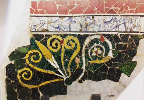 Piove (ancora...) e non avete voglia di star fuori? Entrate nel museo nazionale romano, a palazzo Massimo, e incantatevi di fronte ai pannelli in opus sectile