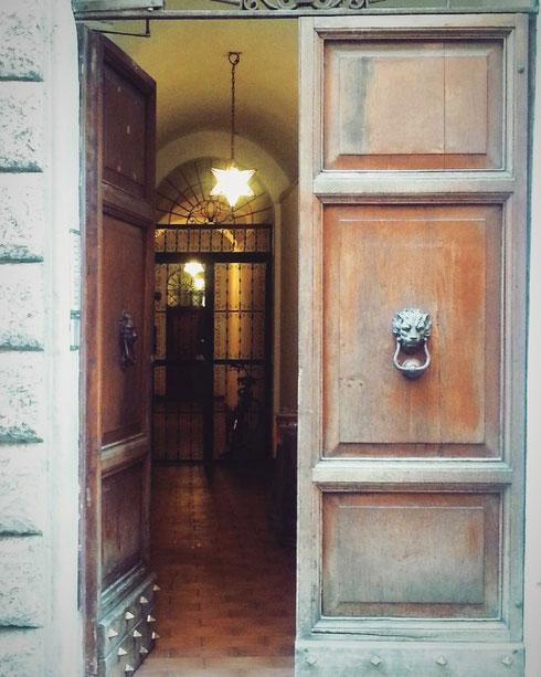 Porte aperte a via del Governo Vecchio