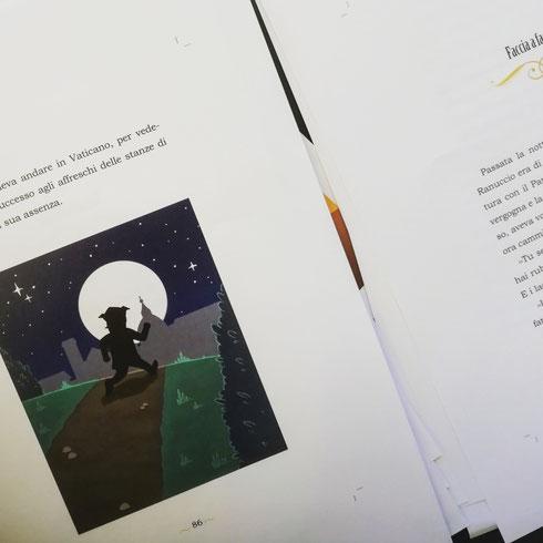 Ultimo giro di bozze del nuovo libro...che combinerà stavolta Raffaello?