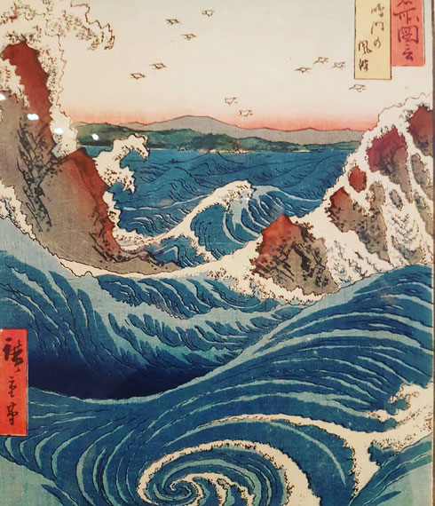 Con i Gorghi di Naruto finisce la settimana dedicata a Hiroshige...ma la mostra delle Scuderie del Quirinale resterà aperta fino al 29 luglio, non perdetela