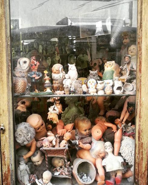 A via Ripetta dagli anni '50, la bottega di restauri artistici Squatriti
