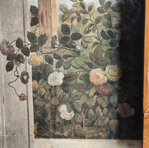 Roma è piena di giardini veri o dipinti...  ...quando poi il giardino dipinto guarda dalla finestra quello vero, come nell'appartamento principessa Isabelle di palazzo Colonna, allora si rasenta la perfezione