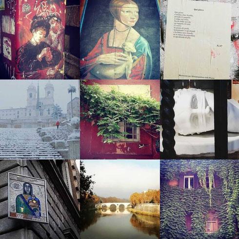 Revisioni d'autore e arte contemporanea, finestre e panorami, poeti di strada e una nevicata eccezionale: ecco le foto che su Instagram avete amato di più...buon anno nuovo a tutti