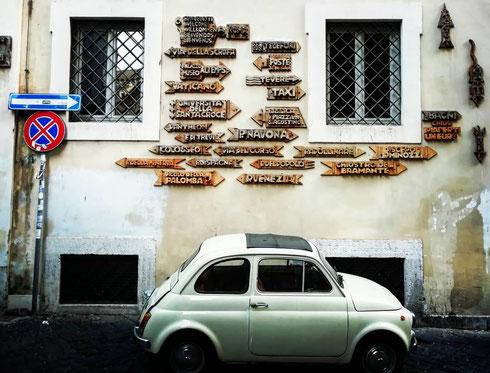 Tutte le strade portano a Roma...e in ogni altro luogo, a quanto pare