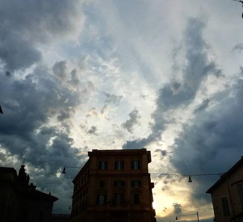 Quando il cielo a San Giovanni non promette nulla di buono...ma almeno è uno spettacolo