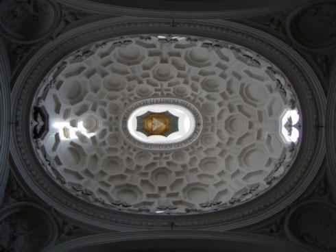 Come fare un confronto tra sant'Andrea di Bernini e san Carlino di Borromini se manca la foto di quest'ultima? Eccola!