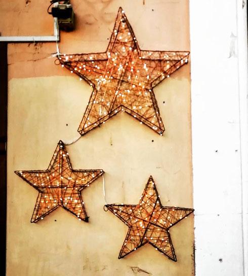 Buon anno dalle stelle di via Cavour