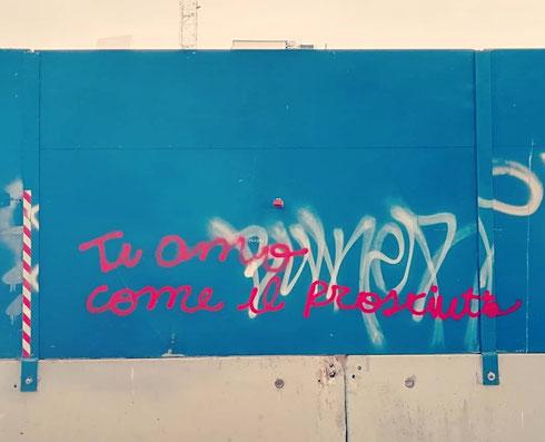 Dichiarazioni sui generis a via Nocera Umbra...come l'avrà presa lei (o lui)?