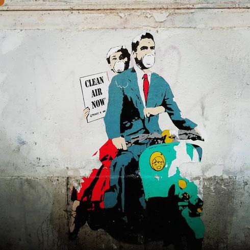 Tra inquinamento e immondizia fuori controllo le vacanze romane non sono così piacevoli come quelle di Audrey Hepburn e Gregory Peck di cinquant'anni fa