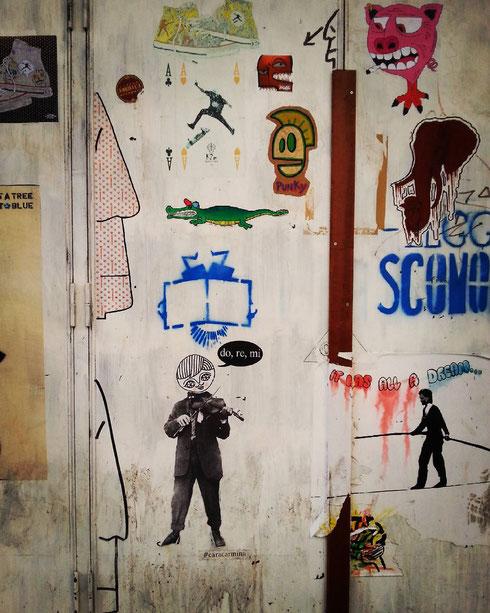 Piccolo Cinema America a Trastevere...piccoli graffiti