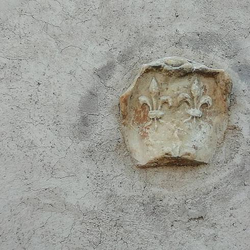 """Piccoli gigli spuntano sul muro accanto a villa Medici, a ricordarci che qui siamo a metà strada tra Roma e Parigi. Sapevate che le due capitali sono gemellate dal 1956? Si tratta dell'unico gemellaggio dell'Urbe e della ville Lumière, perché (come si disse all'epoca) """"solo Parigi è degna di Roma e solo Roma è degna di Parigi"""""""