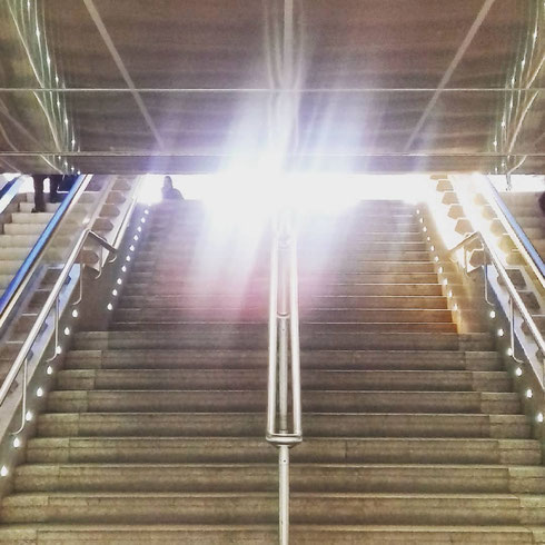 Lunedì mattina, ore otto: la stazione Termini sembra l'enterprise