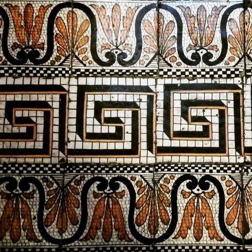 I pavimenti del museo Napoleonico sono così belli che quasi dispiace calpestarli...
