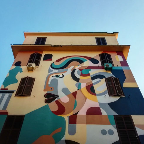 Quarantena e musei chiusi? A Tor Marancia non se ne sente così tanto la mancanza, visto che l'arte ha colorato i palazzi del quartiere
